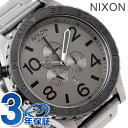 51-30 Nixon nixon Nixon watch THE CHRONO A083 Kurono mat black / mat gunmetal A0831062