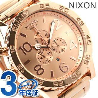 Nixon 51-30 Chrono A083 all rose gold THE 51-30 CHRONO nixon A083897