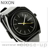 ニクソン A119000 nixon ニクソン 腕時計 タイムテラーP BLACK ブラック【あす楽対応】