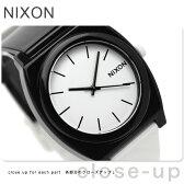 ニクソン A119005 nixon ニクソン 腕時計 タイムテラーP ブラック/ホワイト【あす楽対応】
