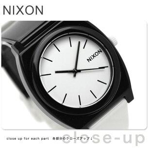 ニクソン タイムテラー ブラック ホワイト