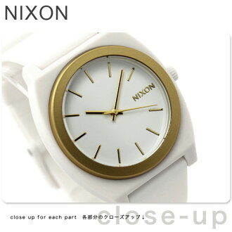 Nixon watch THE TIME TELLER P ANODAZE A119 thyme Teller P white / gold nixon A1191297