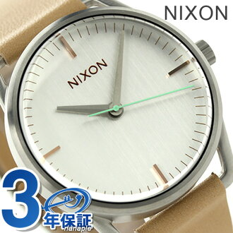Nixon Mellor men's watch quartz A1291603 NIXON A129 natural / silver