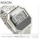 nixon ニクソン 腕時計 The RE-RUN A158 リ・ラン シルバー A158130
