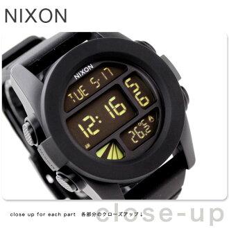 Nixon Nixon watches UNIT A197 unit black A197000