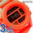 ニクソン A1971156 nixon ニクソン 腕時計 THE UNIT ユニット ネオンオレンジ
