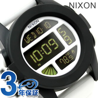 Nixon Nixon watches THE UNIT A197 unit white / black A197127
