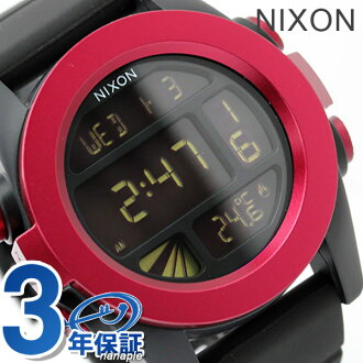 Nixon Watch THE UNIT ANODAZE A197 unit dark red / black nixon A1971307