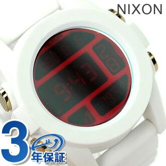 Nixon unit mens watch A1971802 nixon A197 white / Cosmos P19Jul15