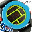 ニクソン A1971935 nixon ニクソン ユニット 腕時計 ブラック/ブルー/シャトリューズ【あす楽対応】