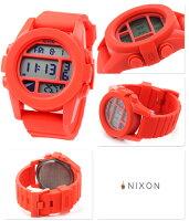ニクソンユニットメンズ腕時計クオーツA197383nixonA197レッドペッパー