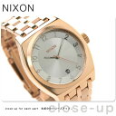 Nixon nixon Nixon watch THE MONOPORY A325 monopoly Rose gold A3251044