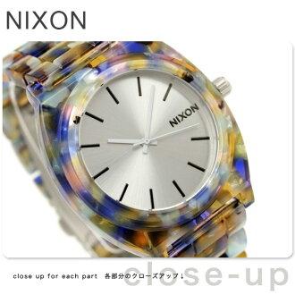 nixon Nixon watch THE TIME TELLER ACETATE A327 thyme Teller acetate watercolor painting acetate A3271116