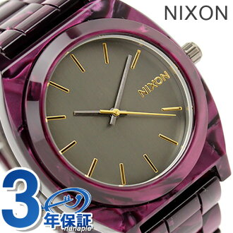 Nixon watch thyme Teller acetate A327 gunmetal / velvet THE TIME TELLER ACETATE nixon A3271345