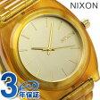 ニクソン A3271423 nixon ニクソン タイムテラー アセテート 腕時計 ゴールド/アンバー 【あす楽対応】