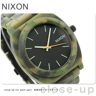 Nixon time teller p acetate watch A327 matte black / Camo nixon A3271428 P19Jul15