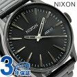 ニクソン A356001 nixon ニクソン 腕時計 THE SENTRY SS セントリーSS オールブラック 【あす楽対応】