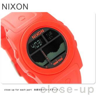Nixon A3851156 nixon Nixon rhythm men's watches neon Orange