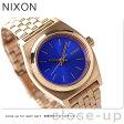 ニクソン A3991748 nixon ニクソン スモールタイムテラー レディース 腕時計 ローズゴールド/コバルト【あす楽対応】