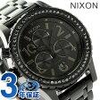 ニクソン A4041879 nixon ニクソン 38-20 レディース 腕時計 オールブラッククリスタル【あす楽対応】