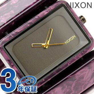 Nixon watches Vega A726 gunmetal / velvet THE VEGA nixon A7261345