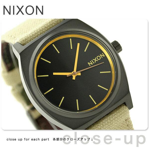 ニクソン タイムテラー クオーツ 腕時計 A0451711 NIXON カーキ/カモ【あす楽対応】