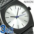 ニクソン A045180 nixon ニクソン タイムテラー クオーツ 腕時計 ブラック/シルバー【あす楽対応】
