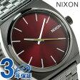 ニクソン A0452073 nixon ニクソン タイムテラー クオーツ 腕時計 ガンメタル/ディープバーガンディ【あす楽対応】