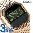 ニクソン A158897 nixon リ・ラン 腕時計 オールローズゴールド【あす楽対応】