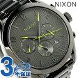 ニクソン A366131 nixon ブレット クロノグラフ レディース 腕時計 ガンメタル【あす楽対応】