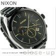 ニクソン A3661616 nixon ブレット クロノグラフ レディース 腕時計 オールブラック/ミックス【あす楽対応】