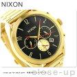 ニクソン A366510 nixon ブレット クロノグラフ レディース 腕時計 オールゴールド/ブラック【あす楽対応】