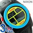 ニクソン A3851935 nixon ニクソン リズム メンズ 腕時計 ブラック/ブルー/シャルトリューズ【あす楽対応】