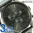 ニクソン セントリー クロノグラフ メンズ 腕時計 A386632 NIXON オール ガンメタル【あす楽対応】