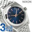 ニクソン A3992195 nixon スモールタイムテラー レディース 腕時計 ネイビー/ローズゴールド【あす楽対応】