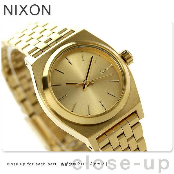ニクソン A399502 nixon ニクソン スモール タイム テラー レディース 腕時計 オールゴールド【あす楽対応】