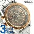 ニクソン A4042215 nixon 38-20 クロノグラフ レディース 腕時計 シルバー/ローズゴールドトープ【あす楽対応】