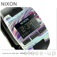 ニクソン A4082151 nixon コンプ メンズ 腕時計 マーブルドマルチ/ブラック【あす楽対応】