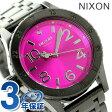 ニクソン A4102096 nixon ニクソン 38-20 レディース 腕時計 ガンメタル/ピンクサンレイ
