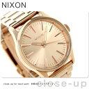 ニクソン A450897 nixon セントリー 38 腕時計 オール ローズゴールド
