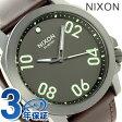 ニクソン A4661099 nixon レンジャー 45 レザー メンズ 腕時計 ガンメタル/ダークブラウン【あす楽対応】