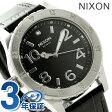 ニクソン A4671886 nixon ニクソン 38-20 レザー レディース 腕時計 ブラックゲーター【あす楽対応】