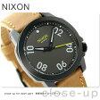 ニクソン A4712093 nixon レンジャー 40 レザー 腕時計 ブラック/ガンメタル/ナチュラル【あす楽対応】