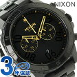 ニクソン レンジャー クロノグラフ メンズ 腕時計 A549010 NIXON ブラック/ゴールド【あす楽対応】