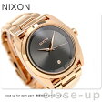 ニクソン クイーンピン クオーツ レディース 腕時計 A9352046 nixon オールローズゴールド/ガンメタル【あす楽対応】