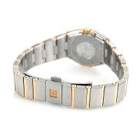 【すぐ使える1万円OFFクーポン付】オメガコンステレーション24mmレディーススイス製123.20.24.60.02.001OMEGA腕時計K18シルバー×レッドゴールド新品
