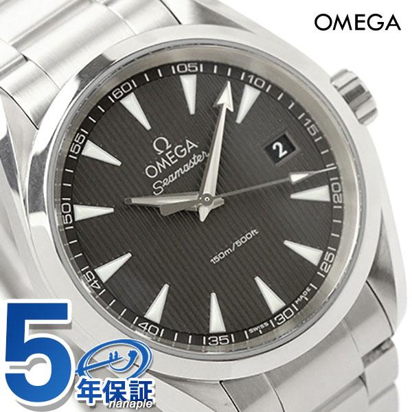 オメガ 腕時計 シーマスター アクアテラ 38.5MM メンズ デイト グレー OMEGA 231.10.39.60.06.001 新品【あす楽対応】