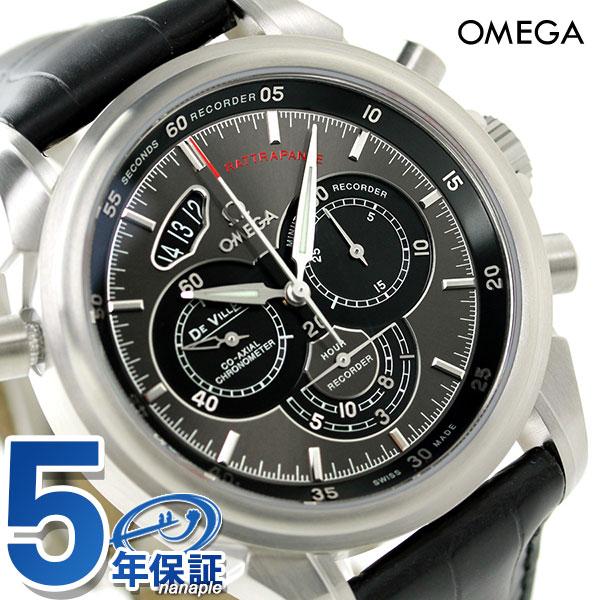 オメガ デビル クロノスコープ クロノグラフ 自動巻き 422.13.44.51.06.001 OMEGA 腕時計 新品 時計
