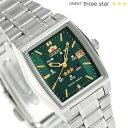 オリエント 逆輸入 海外モデル スリースター 自動巻き URL034NQ ORIENT 腕時計 グリーン