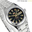オリエント 逆輸入 海外モデル スリースター 自動巻き WV0061NQ ORIENT 腕時計 ブラック